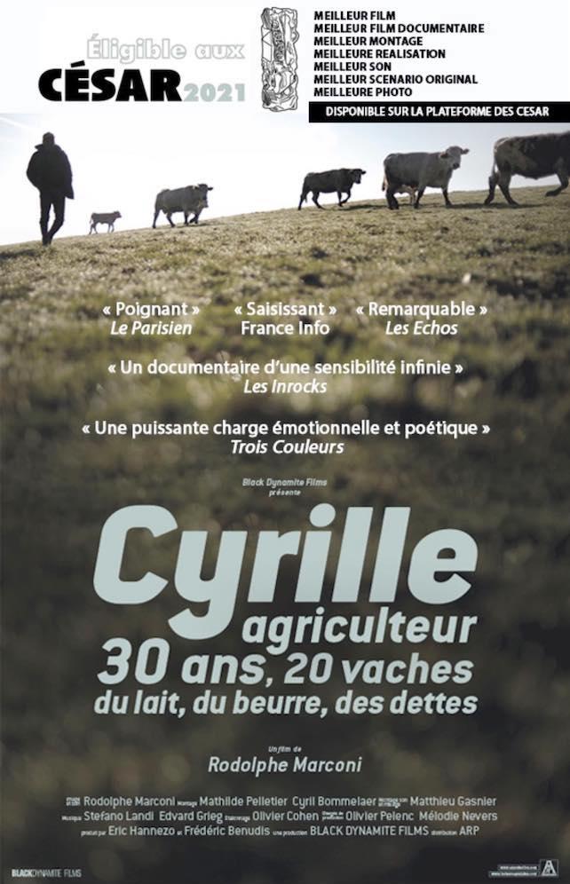 Le documentaire «Cyrille» éligible aux César 2021